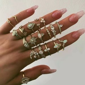 Jewelry - SOL ♡ Midi Rings 19pcs SET
